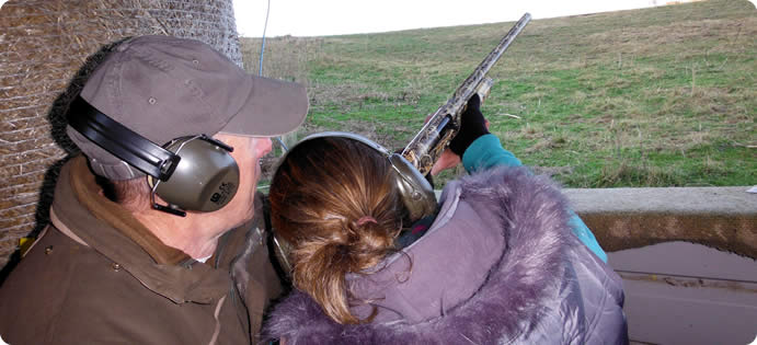 clay pigeon shooting experience day, Brighton, Sussex